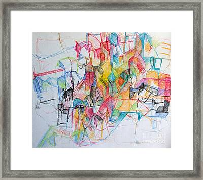 Tzadik 14 Framed Print