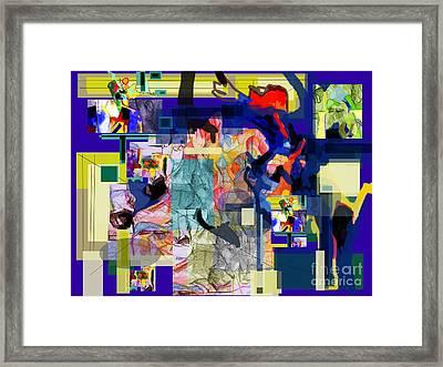 Tzaddik Emes 3 Framed Print by David Baruch Wolk