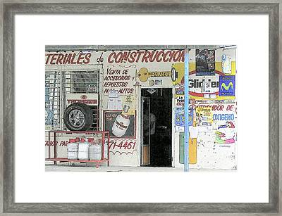 Advertising Framed Print by Heiko Koehrer-Wagner