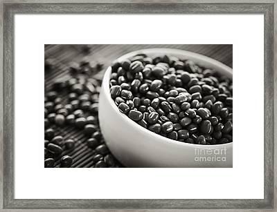 Adzuki Beans Framed Print by Elena Elisseeva