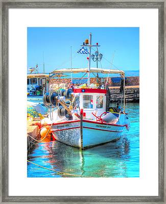 Aegean Light Framed Print by Andreas Thust