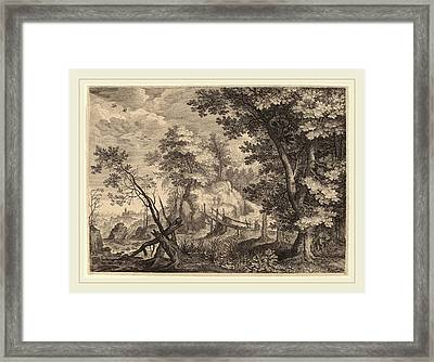 Aegidius Sadeler II After Roelandt Savery Flemish Framed Print by Litz Collection