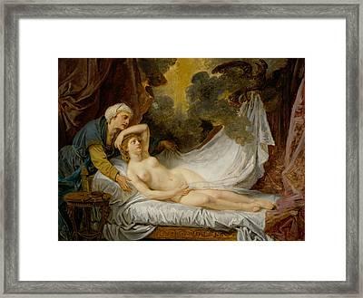 Aegina Visited By Jupiter Framed Print