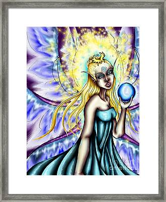 Aene's Light Framed Print by Coriander  Shea