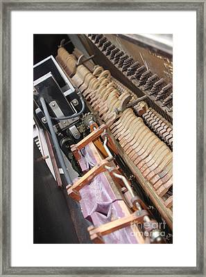 Aeolian Player Piano-3487 Framed Print by Gary Gingrich Galleries