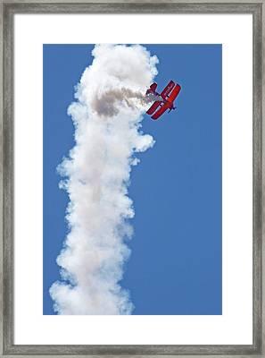 Aerial Acrobatics Display Framed Print