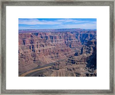 aerial Grand Canyon Framed Print by Sophie Vigneault