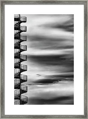 Aerial Helix Framed Print