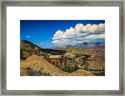 Aerial Tramway Headhouse Framed Print by Robert Bales