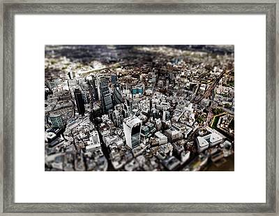 Aerial View Of London 3 Framed Print