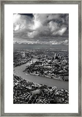 Aerial View Of London 4 Framed Print