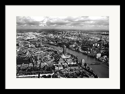 London Eye Framed Prints