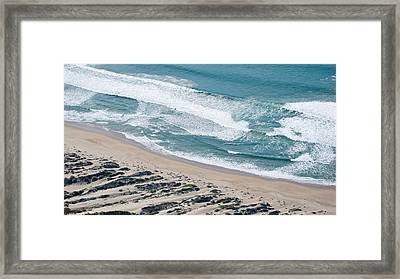 Aerial View Of Pismo Beach, San Luis Framed Print