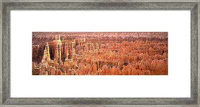 Aerial View Of The Grand Canyon, Bryce Framed Print by Panoramic Images
