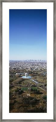 Aerial View Of Worlds Fair Globe, From Framed Print