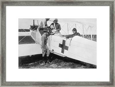 Aero-ambulance Framed Print by Library Of Congress