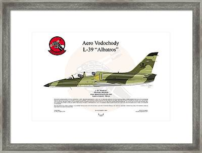 Aero Vodochody Albatros Framed Print by Arthur Eggers