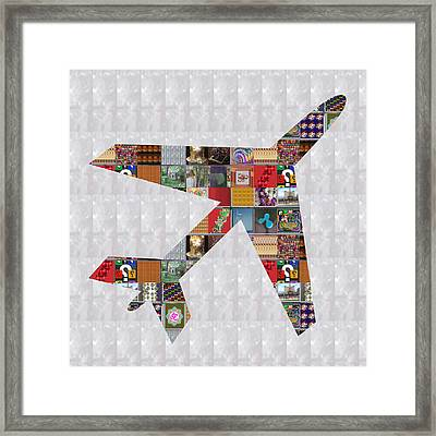 Aeroplane Jet Fly Showcasing Navinjoshi Gallery Art Icons Buy Faa Products Or Download For Self Prin Framed Print