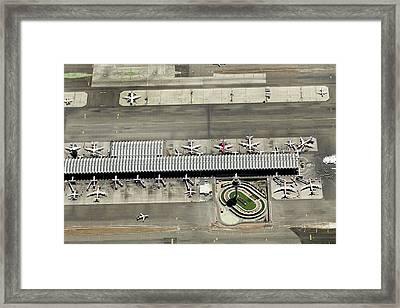 Aeropuerto T4 De Barajas Framed Print