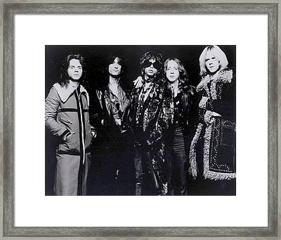 Aerosmith - America's Greatest Rock N Roll Band Framed Print by Epic Rights