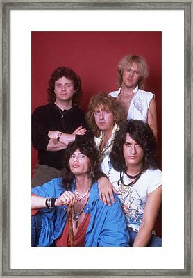 Aerosmith - Back In The Saddle 1984 Framed Print by Epic Rights