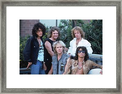 Aerosmith - Bad Boys From Boston 1970s Framed Print by Epic Rights