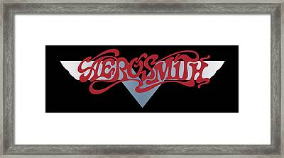 Aerosmith - Dream On Banner 1973 Framed Print by Epic Rights