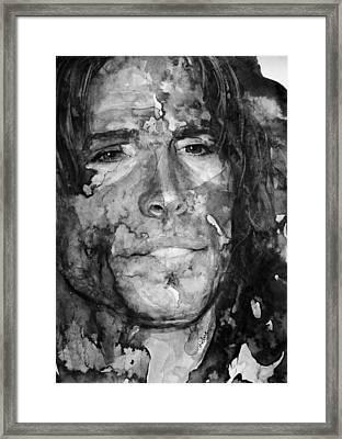 Aerosmith Framed Print