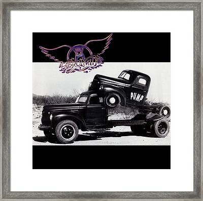 Aerosmith - Pump 1989 Framed Print by Epic Rights