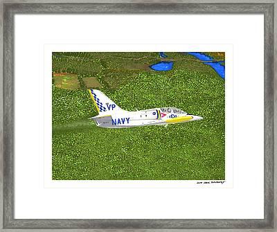 Aerovodochody L39. Framed Print by Jack Pumphrey