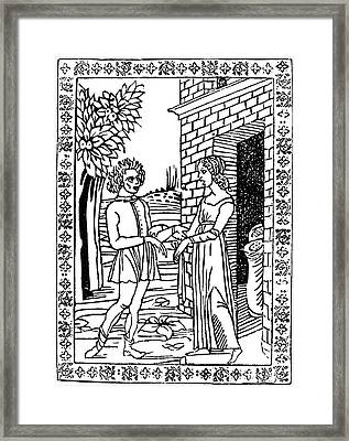 Aesop Thais & The Youth Framed Print