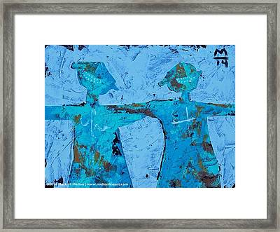 Aetas No. 15  Framed Print by Mark M  Mellon
