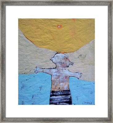 Aetas No 7 Framed Print by Mark M  Mellon