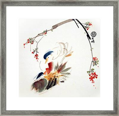 Affectionate Framed Print by Ming Yeung