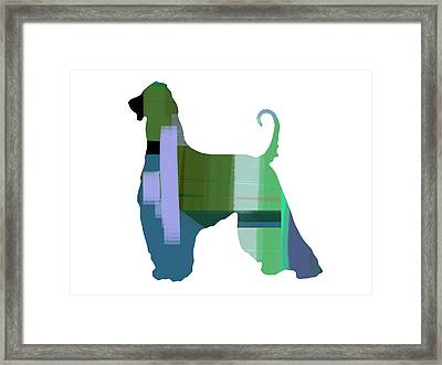 Afghan Hound 1 Framed Print by Naxart Studio