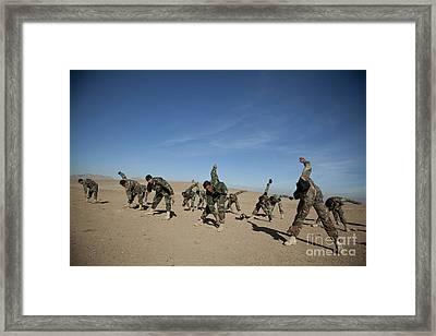 Afghan National Army Commandos Framed Print