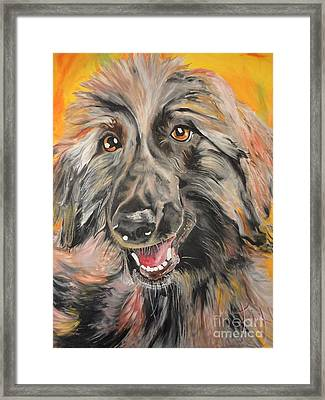 Afghan Framed Print by PainterArtist FIN