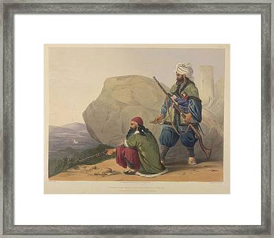 Afghaun Foot Soldiers Framed Print by British Library