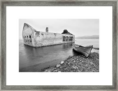 Framed Print featuring the photograph Afloat - 2 by Okan YILMAZ