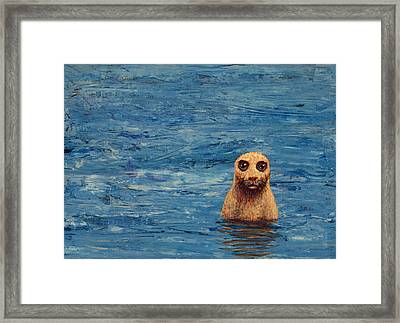 Afloat Framed Print by James W Johnson