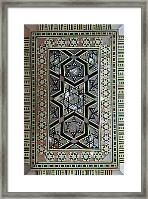 Africa, Egypt Typical Wood Box Inlaid Framed Print