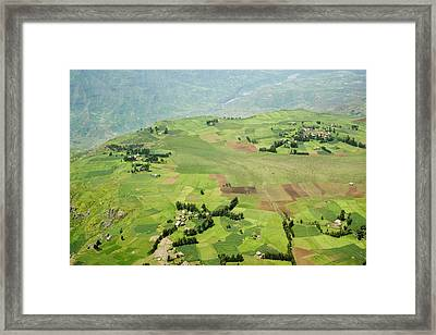 Africa, Ethiopian Highlands, Eastern Framed Print