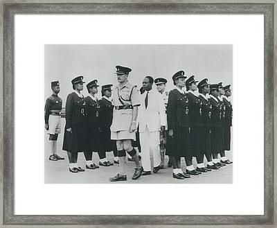 Africa Has Policewomen Framed Print by Retro Images Archive