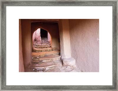 Africa, Morocco, Souss-massa-draa, Ait Framed Print