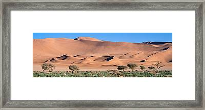 Africa, Namibia, Namib Desert Framed Print by Panoramic Images
