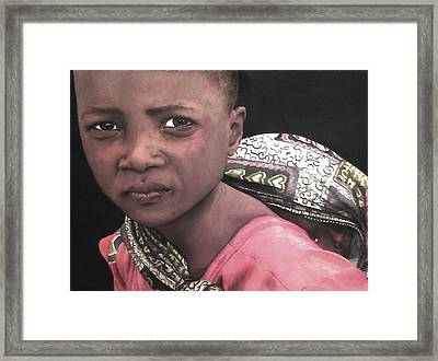 Africa Sisters Framed Print