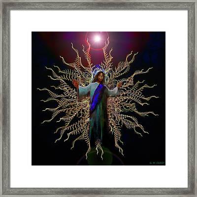 African Ascension Framed Print