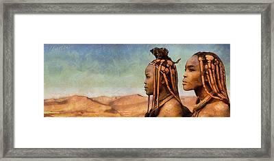 African Beauty Framed Print by Marina Likholat