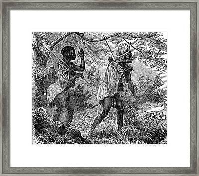 African Bushmen Framed Print