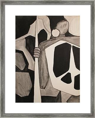 African Framed Print